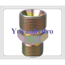 JIS Fttings Male Connector 60 Deg Cone BSPT Thread