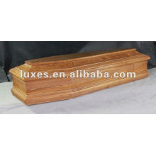 professional wooden coffin