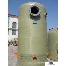 Стеклопластиковые емкости с мешалкой для очистки дымовых газов