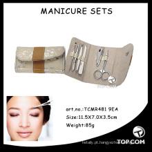 Conjunto de manicure profissional kit de arquivo de unhas micro ferramentas de arte