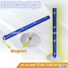 OEM 4 * AAA alimentado por batería portátil llevado 4 LED ABS material superior LED Gabinete de luz