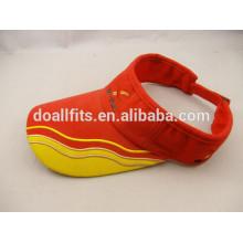 Customied logo bon marché chapeaux solaires fabriqués en Chine