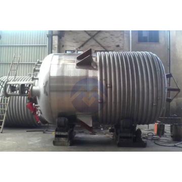 Äußerer Spiralrohrreaktor aus rostfreiem Stahl mit großer Kapazität