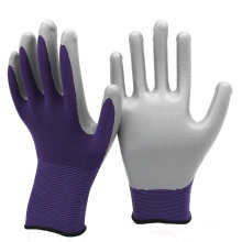 NMSAFETY half coated nitrile safe hand glove