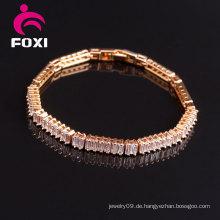 Heißer Verkauf Rose Gold Edelstein Armbänder Schmuck