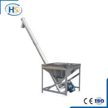 Cargador de tornillo para carga de pellets en la máquina de extrusión