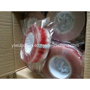 Exportar a Dubai 250mtr Logo Printed Carton Packing Tape Película BOPP con pegamento acrílico