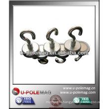 clamp magnet with eyebolt / hooks