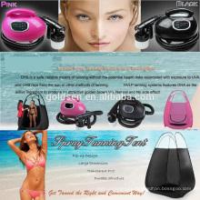 Système de machine à couper le bain de bronzage pour intérieur et à l'intérieur HVLP Spray Tan Gun Portable Professional Home Body Self Tanning