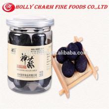 100% pur greeen nourriture vieil pelée solo ail noir 200g / bouteille