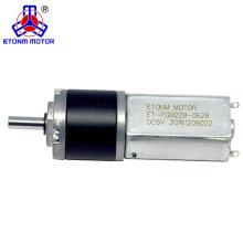 Faible bruit moteur 12 dc couple élevé 200 tr / min