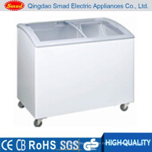 wholesale ice cream top open general chest freezer