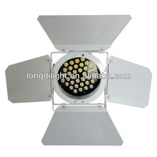 36*3W led par light with warm white and cold white leds