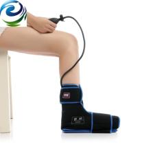 A melhor dor de músculo fria de venda de nylon do tornozelo da compressa do material da compressão do material