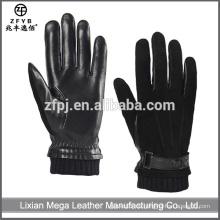 Made in China Hot Sale Herren Schwein Wildleder Winter Leder Handschuhe Alibaba Express