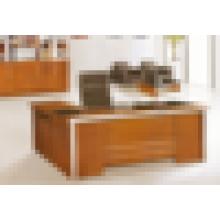 CEO antiguo escritorio de madera moderno ejecutivo de vidrio escritorio superior