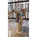 2019 Wholesale Mini PTC Ceramic Electric Oscillating Heating Fan mit Digitalanzeige und Fernbedienung