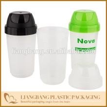 Flaschen und Verpackungen mit Plastik Lebensmittel, 13oz