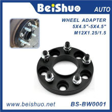 Adaptateur de roue 5 trous avec surface noire anodisée