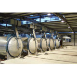 Aac Production Line / Aac Autoclave , Φ2*31m / Steam Chemical / Aac Block Machine