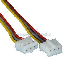 UL2468 24 # Xh-3p Rot auf Weiß Elektronischer Draht