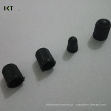 Válvulas de pneu de roda de carro universal Plástico de automóvel de ABS Plugue de bocal de válvula de pneu de automóvel Tampão de pó Tampas de haste de válvula de pneu de roda