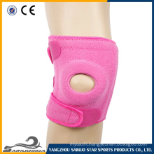 pink knee support brace