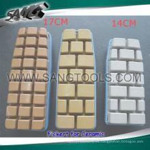 Resina de diamante pulido bloque (SA-041)