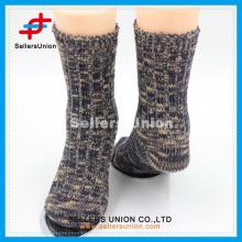 Зимняя теплая пряжа из хлопчатобумажной пряжи с вязаными толстыми носками для дам