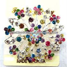 2013 Traje Snowflake flor broche de diamante BR05