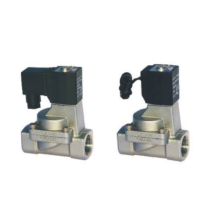 Indirect acting and normally closed type 2/2 way solenoid valve 2S series fluid control valves