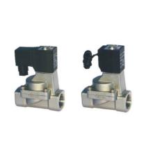 Válvula solenóide de ação indireta e normalmente fechada tipo 2/2 vias Válvulas solenóide de controle de fluidos série 2S