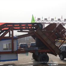 CE Certificate Yhzs35 Price of Mobile Concrete Batching Plant for South America