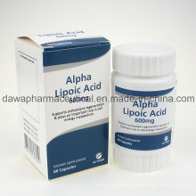 Finished Medicine for Anti-Age Alpha Lipoic Acid Capsules