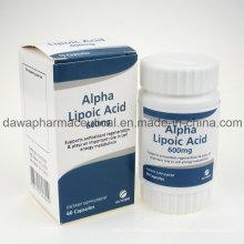 Готовое лекарство для Анти-эйдж капсулы Альфа-Липоевая кислота