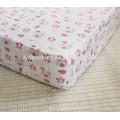 Органический Хлопок Приталенный Шпаргалки Подшивки,Детская Кроватка Лист