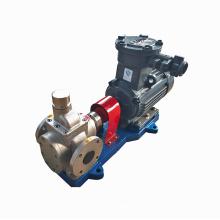 Série YCB pompe en acier inoxydable petite pompe à huile pompe à engrenages