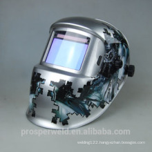 Newest and Solar Auto Darkening Welding Helmet EN379