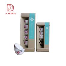Nueva caja de cartón corrugado reciclable del papel de encargo del diseño para el cuenco