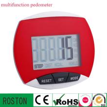 Pedômetro LED Multifuction