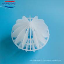 Tipo modular plástico de Modling da injeção bola oca polihedral de embalagem aleatória plástica