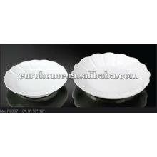 Porzellan Hochzeitstorte Platten-Guangzhou Keramik P0397