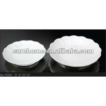 porcelain wedding cake plates -guangzhou ceramic P0397