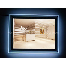 Wall Mounted Advertising Signboard LED Illuminated Light Box (CSW01-A4L-02)