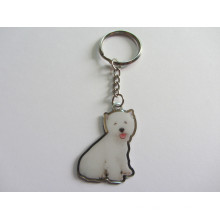 Supply Custom Promotional Metal Printed Keychain at Factory Price