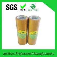 Venta caliente BOPP cinta Tan color BOPP cinta adhesiva 48mmx66m
