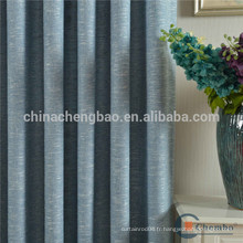 Chine fournisseur rideau de tissu de toile de qualité pour l'hôtel