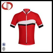 100% Polyester Wholesale Short Sleeve Cycling Jersey