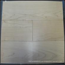 Suelos de madera de arce sólido de la venta caliente