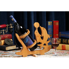 Bamboo & Wooden Wine Rack for Home Decoration